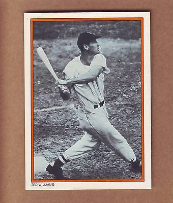 Great Out of Print Ted Williams card - Boston Red Sox - Hall of Fame HOF