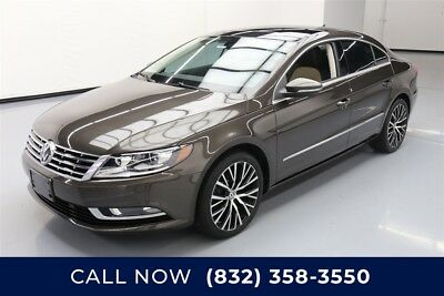 Volkswagen CC VR6 Executive 4Motion Texas Direct Auto 2015 VR6 Executive 4Motion Used 3.6L V6 24V Automatic AWD