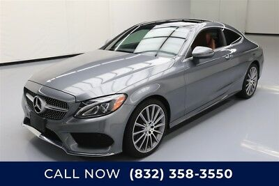 Mercedes-Benz C-Class C 300 Texas Direct Auto 2017 C 300 Used Turbo 2L I4 16V Automatic RWD Coupe Moonroof