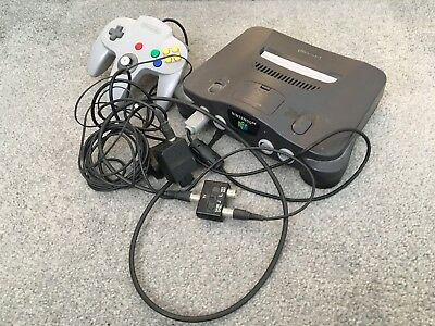 House Clearance Attic Find Rare Retro Classic Nintendo 64 Games Console Spares