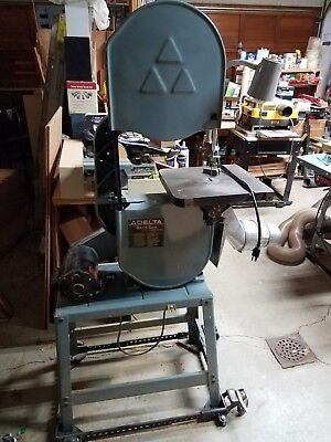 "Rockwell Delta 28-245 14"" Wood Vertical Band Saw made in USA bandsaw"