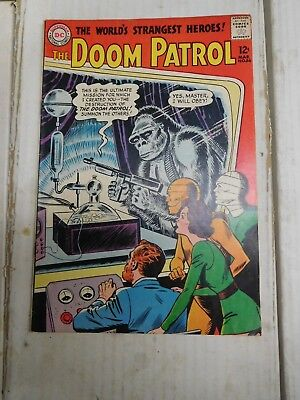 DC Doom Patrol Silver Age Comic #86 Origin First Appearance 1964 Brotherhood