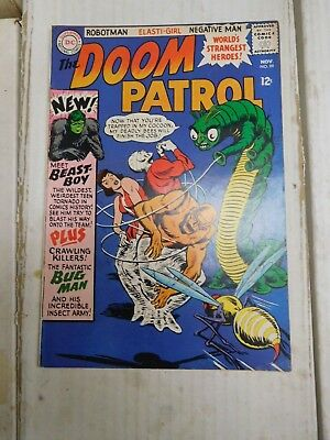 DC Doom Patrol Silver Age Comic #99 Origin First Beast Boy Changeling 1965