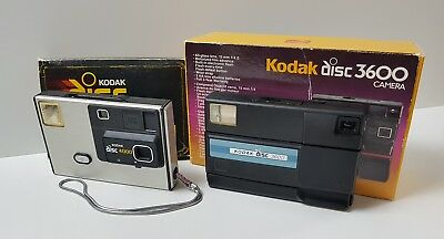 Vintage Kodak Disc 3600 Camera & Kodak Disc 4000 Spares / Repairs