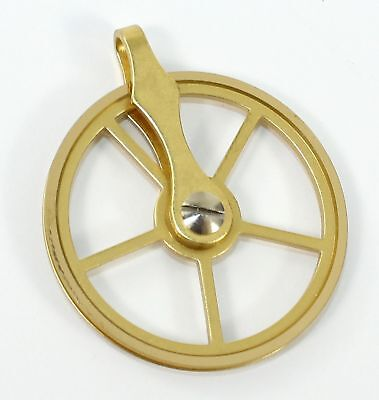 Brass Pulley For Clock Cable -1-3/8 Inch - Ll21