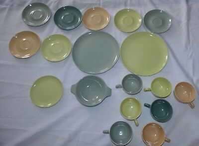 Vintage Taylor Smith & Taylor Pebbleford Granite Ware 18 Pieces