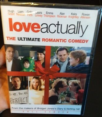 Love Actually factory-sealed DVD full screen