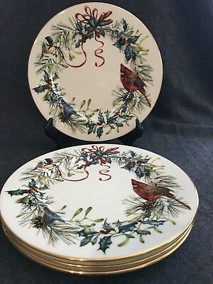 Lenox winter greetings american home china catherine mcclurg 8 lenox winter greetings american home china catherine mcclurg 8 salad plates m4hsunfo
