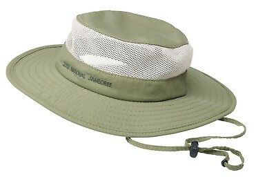 Boy Scout Official National Jamboree Coolmax Ventilated Boonie Hat UPF50 Size S