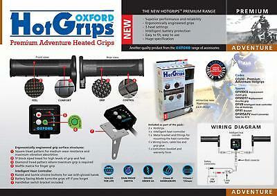 Cheap Oxford Hot Grips For Motorcycle Winter Heated Grips Adventure Was Rrp $149