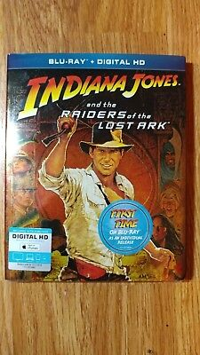 Indiana Jones and the Raiders of the Lost Ark [Blu-ray] - NEW/SEALED!