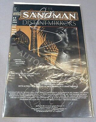 SANDMAN #50 (Limited Treasured Edition Signed by Neil Gaiman 1895/5000) New 1993