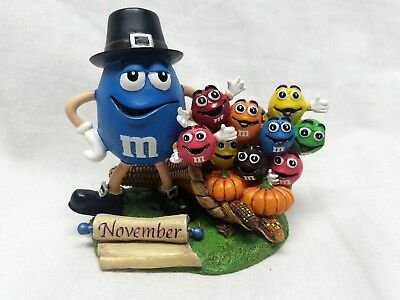 Danbury Mint M & M Candy Figurine Perpetual Calendar Month of November Retired