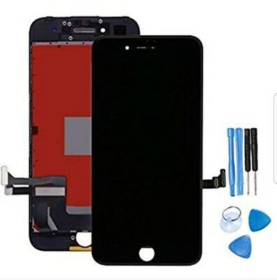 For iPhone 7 Replacement LCD Touch Screen Digitizer Assembly Black With Tools