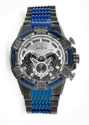 Invicta 25766 Bolt Grey Dial Gunmetal Stainless Steel Chronograph Men's Watch