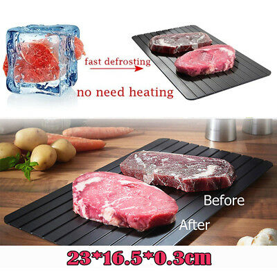 New Fast Defrosting Meat Tray Rapid Safety Thawing Tray For Frozen Food Kitchen
