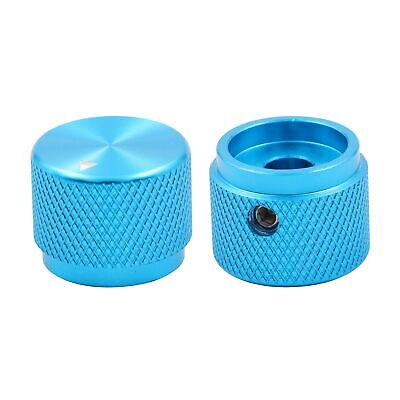 CZH 1PC Machined Full Aluminum 20x15.5mm Volume Knob for Audio AMP Turntable CD