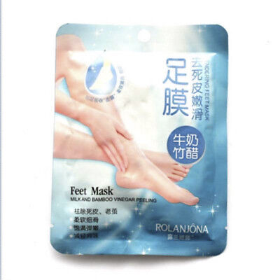 10Pcs / 5 Paar Exfoliating Peel Foot Mask Baby Feet Remove Callus Hard Dead Skin