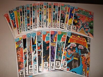Batman and the Outsiders #1-32 + Annuals 1-2 (Complete 1983 series) Lot set