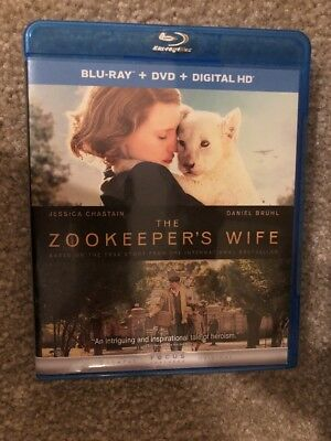 The Zookeeper's Wife Bluray 1 Disc Set ( No Digital HD)
