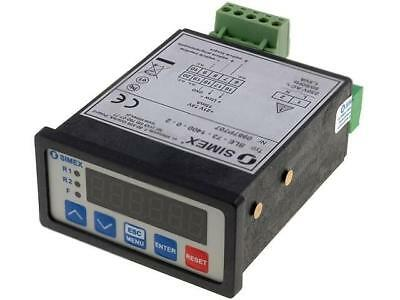 SX-SLE-73/230AC Counter electronical Display LED Type of count.signal SIMEX