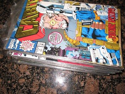 Lot of 50 marvel DC early 1990s comics estate lot X-Force 1 Cable 1 X-Men Spider