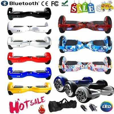 6,5 '' Hoverboard E-solde Overboard Scooter Skateboard Bluetooth Télécomand Sac