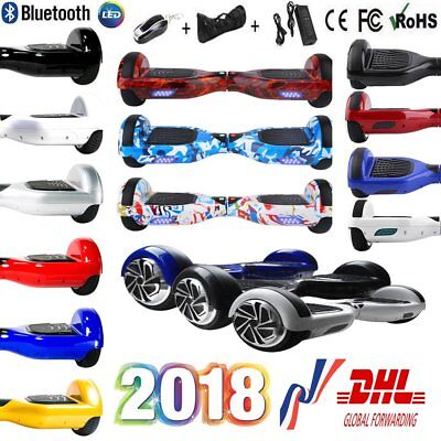 6.5/8/10 Pouces Smart Skate Hoverboard Self Balance Electrique Scooter 2 Roues