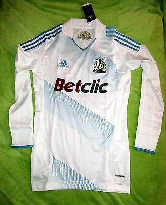 FC Olympique Marseille Football Shirt / Jersey Maglia Player Issue 2011 TECHFIT