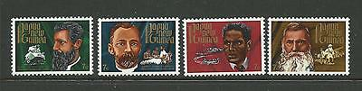 1972 Christmas SG 227/230 Complete MUH Set of 4 as Issued at Post Office