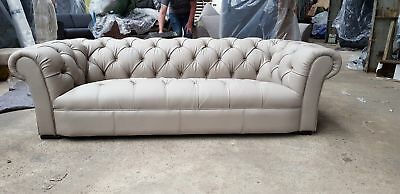 John Lewis Todd Chatsworth Aniline Leather Sofa Was 2899