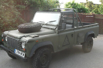 land rover defender 110 ex army 1993 12000 miles only