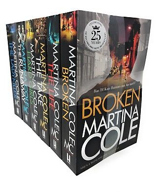Martina Cole 6 Books Set Collection, Broken, The Life, The Take, Hard Girls ...