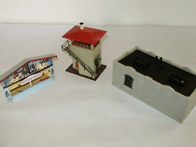 Faller and other, misc building kits.  Some may be incomplete. HO Scale.