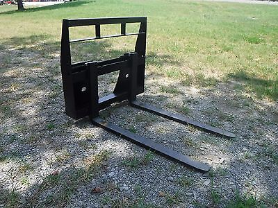 "Bobcat MT 453 S70 Mini Skid Steer - New 42"" Pallet Forks Attachment - Ship $149"