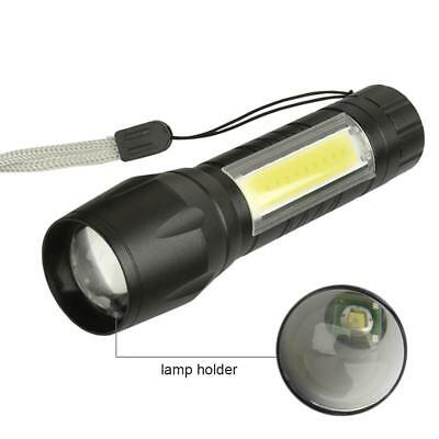 Mini 20000LM XPE+COB LED Flashlight 14500/AA 4 modes Pocket Clip Torch Light PK