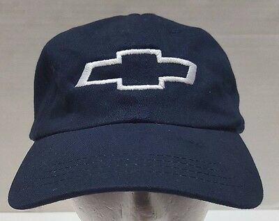 Chevrolet Chevy Blue Hat  Adjustable Strap  Cars Logo Patch