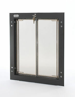 Plexidor Premium Wall Mounted Bronze Pet Doors in 4 Sizes