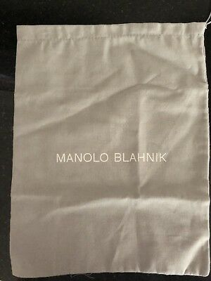 Manolo Blahnik Shoe Bag Authentic Brand New Never Used