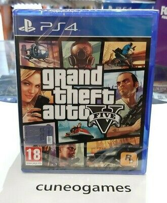 Grand Theft Auto V (GTA 5) PS4 NUOVO SIGILLATO ITA