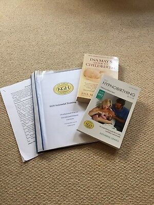 Hypnobirthing Package - Course Material And Book. KG Hypnobirthing/ Ina May