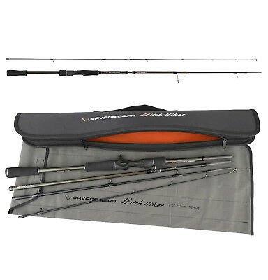 SAVAGE GEAR Hitch Hiker 2,13m 30-70g Reiserute by TACKLE-DEALS !!!