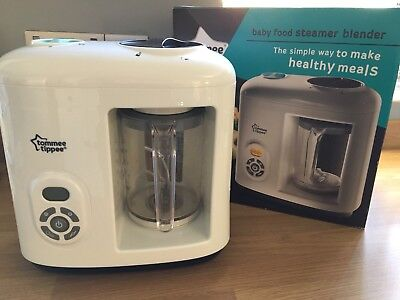 Tommee Tippee Baby Food Steamer Blender Good Condition