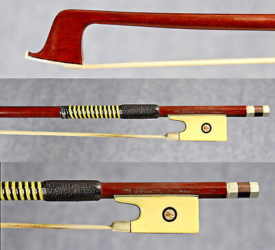 5 rare antique violin/viola bows ca.1890-1920 (Value over $5500) Egidius Dörfler