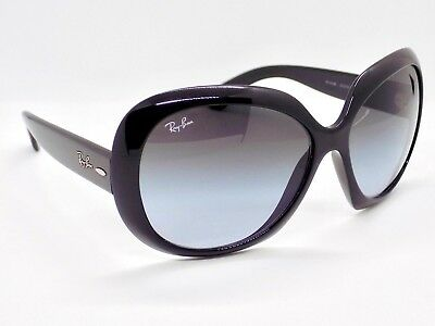 Ray Ban Jackie OHH II Oversized Round Highstreet Gradient RB4098 & Case