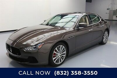 Maserati Ghibli S Q4 Texas Direct Auto 2015 S Q4 Used Turbo 3L V6 24V Automatic AWD Premium
