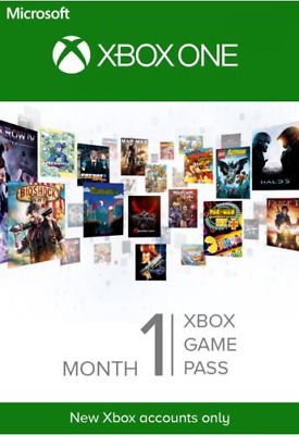 1 Monat Xbox Game Pass Trial Key