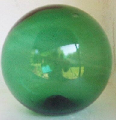 Blown Green Glass Fishing Float
