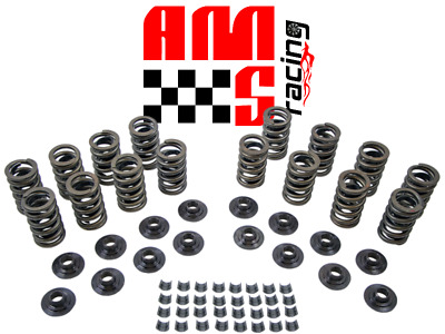 Chevy Sbc 283 327 350 400 Z28 Valve Springs Kit Steel Retainers & Hd Locks