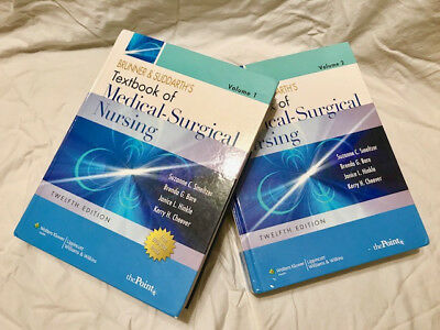 Brunner suddarth 14 ed textbook of medical surgical nursing test textbook of medical surgical nursing vols 1 2 brunner suddarths 12th fandeluxe Image collections